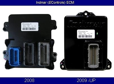 Indmar Econtrols marine engine control module