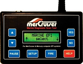 Mercruiser marine diagnostic scan tool
