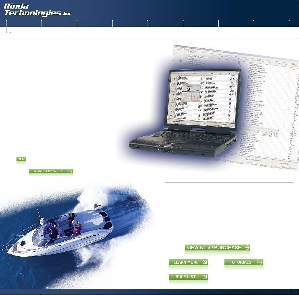 Rinda Technologies Inc  Marine and Industrial Engine